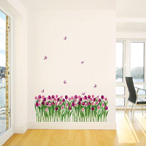 Cvetoči tulipani-0