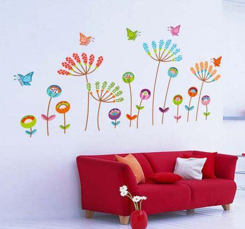 Pisane rože in metulji-576