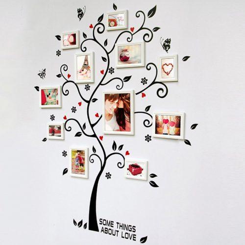 Družinsko drevo - rdeče črno-623