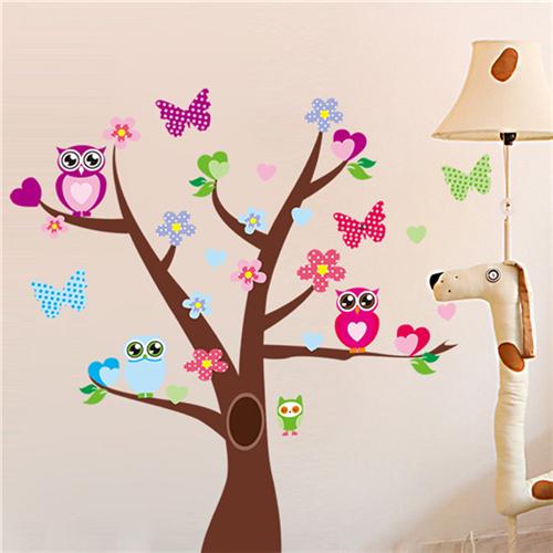 Metuljčki in sovice na drevesu-434