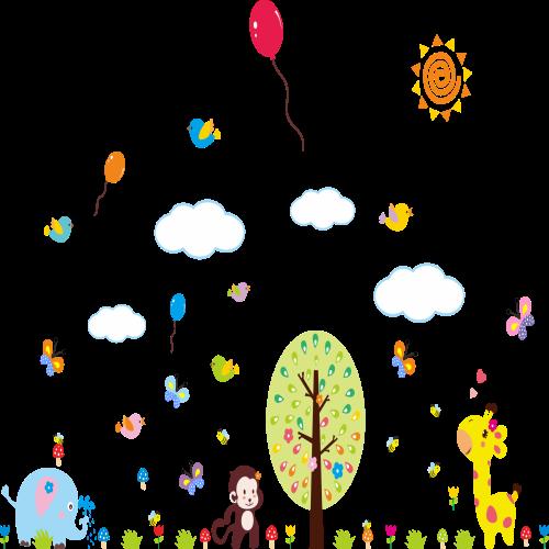 Baloni in živalice-495
