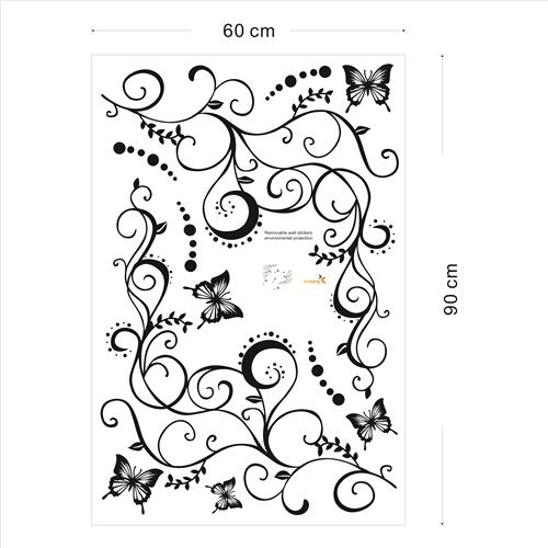 Plezalka z metulji - mala-0