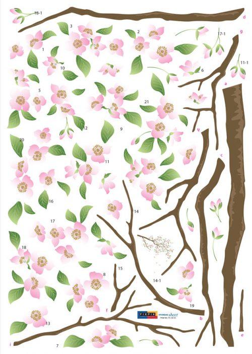 Cvetoča jablana-126