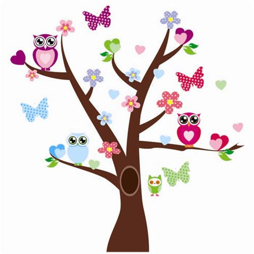 Metuljčki in sovice na drevesu-433